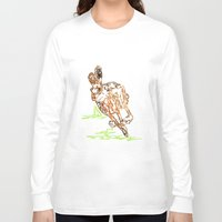 hare Long Sleeve T-shirts featuring Hare by Simon Boulton