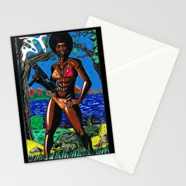 Bad Girls of Motion Pictures #4 - Agent Rosie Carver Stationery Cards
