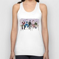 breakfast club Tank Tops featuring The Breakfast Club by DJayK