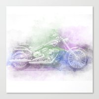 harley Canvas Prints featuring Harley by NKlein Design