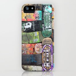 Boards were made to  be broken iPhone Case