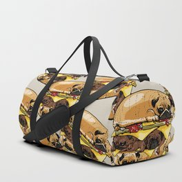 Pugs Burger Duffle Bag