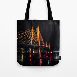 Tilikum Crossing Flooded with Light Tote Bag
