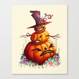 Jolly Punkin Canvas Print