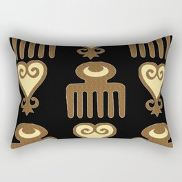 ADINKRA- FEMININE WISDOM Rectangular Pillow
