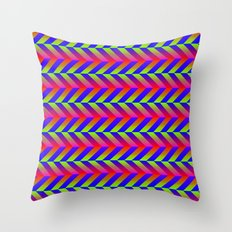 Zig Zag Folding Throw Pillow
