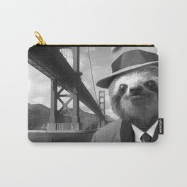 Sloth in San Francisco Carry-All Pouch