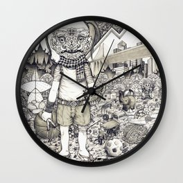 This is me in 1987 Wall Clock