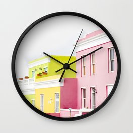Bo Kaap Main Street Wall Clock
