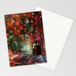 Tardias at painting Stationery Cards
