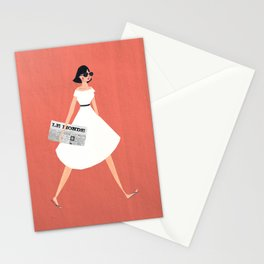 Sunday Paper Stationery Cards