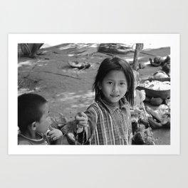 Children of Bali #3 Art Print