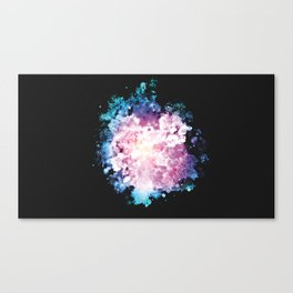 Bubbly Bloom Canvas Print