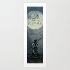 Avatar - Spirit of the Moon Art Print