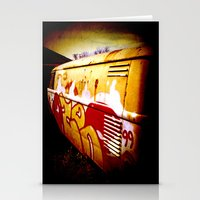 volkswagen Stationery Cards featuring Volkswagen 99 by Justin Alan Casey