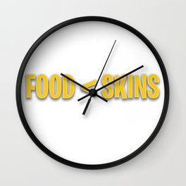 Pro Fortnite - Funny Skins Quote Wall Clock