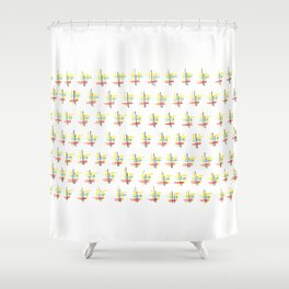 Memories of a kitchentable Shower Curtain