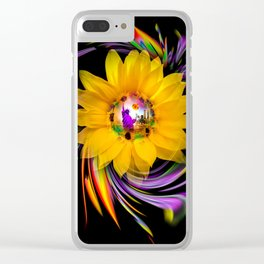 New York NYC - Statue of Liberty - sunrise Clear iPhone Case