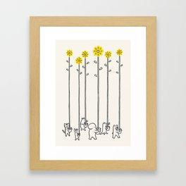 Seeds of hope Framed Art Print