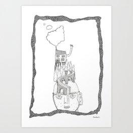 hat viaduct Art Print