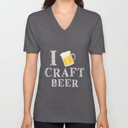 Craft Beer Love   Brewer Homebrewing Pale Ale Unisex V-Neck