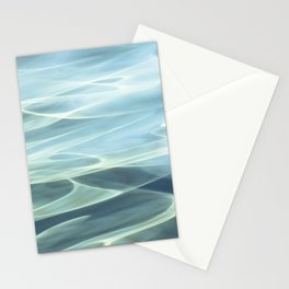 Water abstract H2O # 22 Stationery Cards