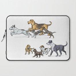 Trotting Terriers Laptop Sleeve