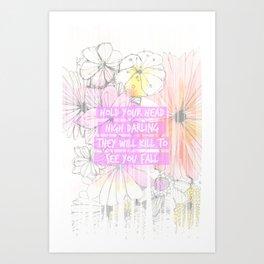 DARLING01 Art Print