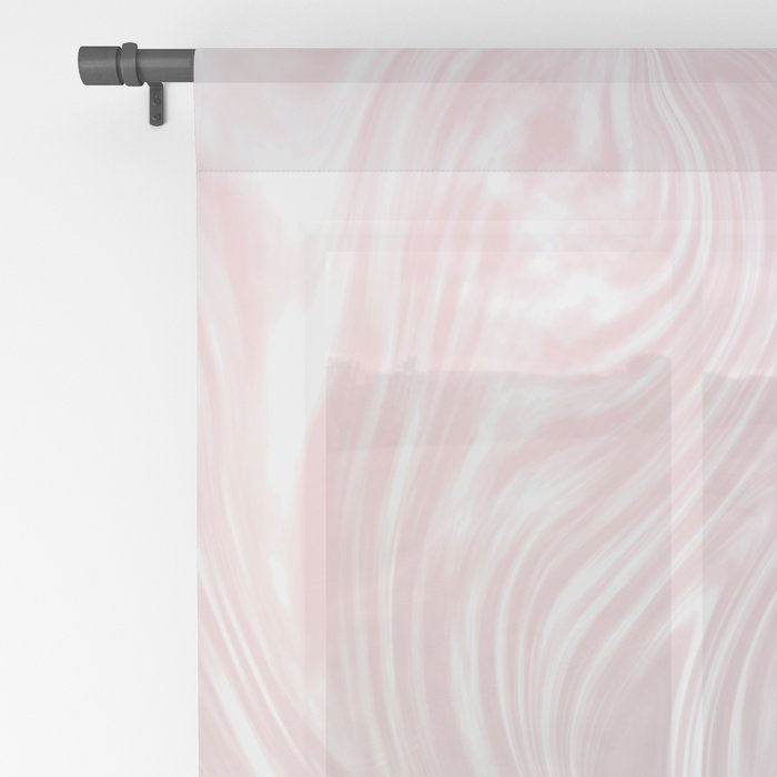 Holographic Silk I. Sheer Curtain