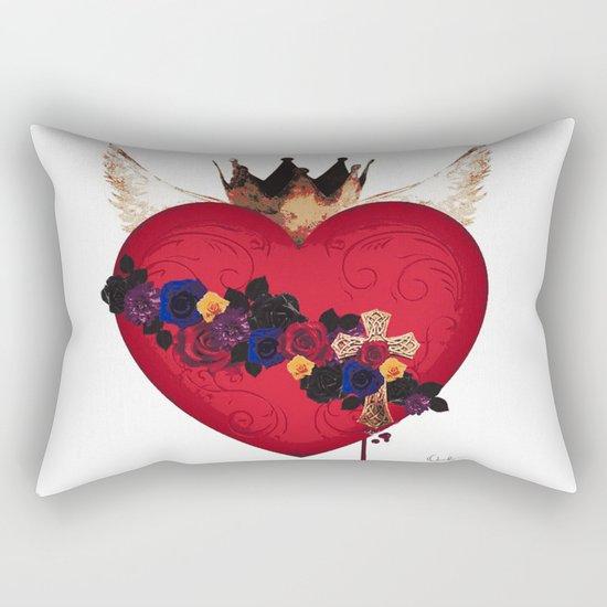 Sacred Heart for Frida Rectangular Pillow