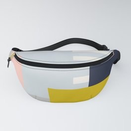 Carson Abstract Geometric Print in Multi Fanny Pack