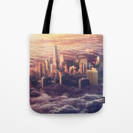 New York: Through The Roof Tote Bag