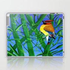 Bamboo and bird Laptop & iPad Skin