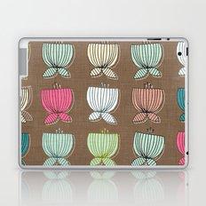 flower cups brown Laptop & iPad Skin