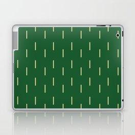 Rain Green and Gold Laptop & iPad Skin