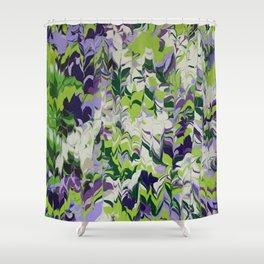Nature Orchid Garden Shower Curtain