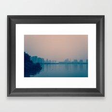 In Wait Framed Art Print