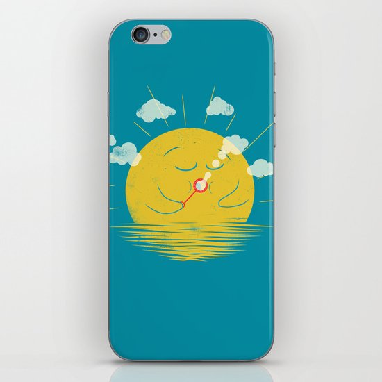 Partly Cloudy iPhone & iPod Skin