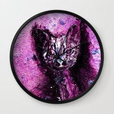 Meow Cat  Wall Clock