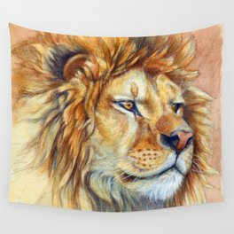 Lion 851 Wall Tapestry