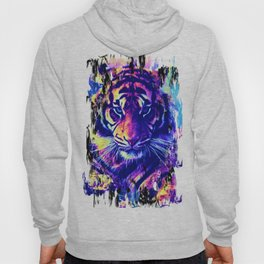 colorful Tiger Hoody