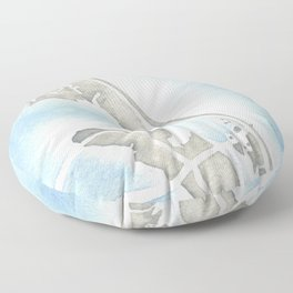 Nags Head North Carolina Floor Pillow