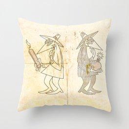 Spy vs. Spy Throw Pillow