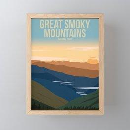 Great Smoky Mountains National Park Framed Mini Art Print