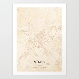 Nimes Art Prints Society6