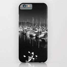 Pillar Point Harbor At Half Moon Bay California iPhone Case
