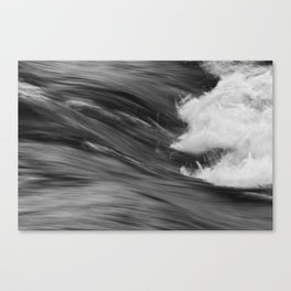 Smooth Turbulence Canvas Print