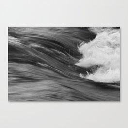 Smooth Turbulence Canvas Print