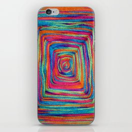 Colorful Yarns - for iphone iPhone Skin