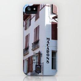 Basque patisserie iPhone Case